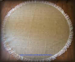 Burlap Round Table Overlays Country Rustic Wedding Table Centerpiece Burlap Overlays With