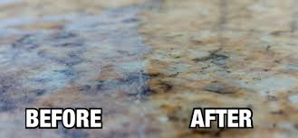 let our experts clean your granite countertops