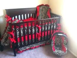 animal print baby bedding sets cheetah crib set pink leopard but and not red