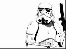 Star Wars Stormtrooper Coloring Pages Printable 312344 Simple In