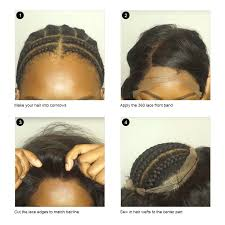Lace Hair Style how to install a 360 lace frontal with bundles besthairbuy blog 3005 by wearticles.com