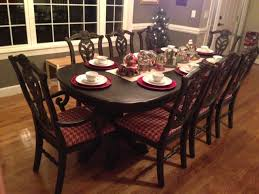 dining room table at