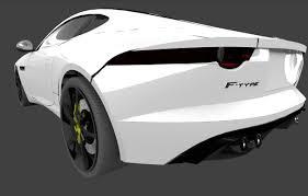 3D Jaguar F-type Coupe exterior | CGTrader