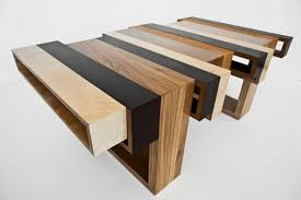 Brilliant Wooden Table Design Elegant Wooden Table Collection Made Of  Leftover Materials Wood