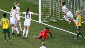 Do it again in top form for durban july. Fifa Women S World Cup Germany Hammer South Africa To Secure Top Spot Sports German Football And Major International Sports News Dw 17 06 2019