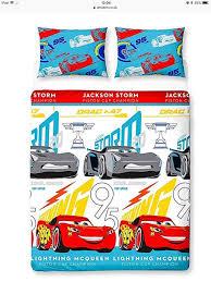 brand new in packaging disney official cars 3 double duvet bedding set lightning mcqueen
