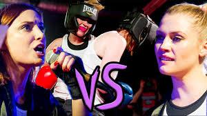 Video lesbian fist fight