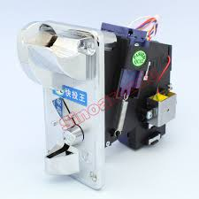 Coin Mechanism For Vending Machine Delectable ▽High Speed Inserting Front Entry Single Coin Selector TW48 Coin
