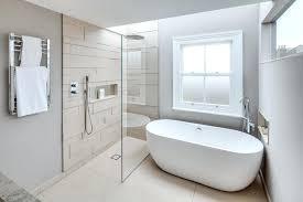 Modern Shower Design Grey And White Marble Modern Shower Design