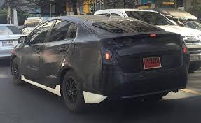 new car 2016 thailand2016 Toyota Prius Spied in Thailand
