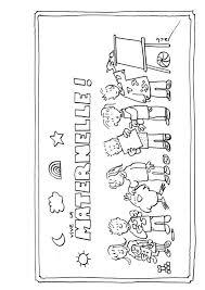 11 Dessins De Coloriage Cole Maternelle Imprimer