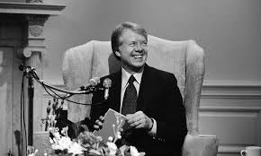 jimmy carter oval office. President Jimmy Carter Chats With Reporters Before Taking Calls From Citizens Around The Nation March 5 Oval Office H