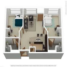 bed 2.  Bed 2Bed 2Bath Signature A To Bed 2 T