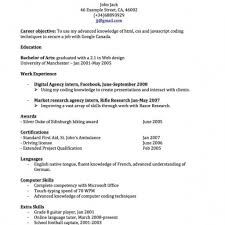 Resume Template Canada Simple Within Perfect Resume