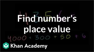 Draw Place Value Disks On The Place Value Chart Finding Place Value Video Place Value Khan Academy