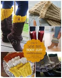 Free Crochet Boot Cuff Patterns