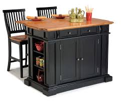Kitchen Island Outlet Home Styles 5003 948 Kitchen Island And Two Stools Sears Outlet