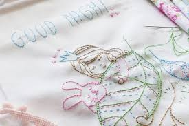 10 Hand Embroidery Patterns for the Nursery & Good Night Embroidery Pattern Adamdwight.com