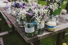 Decorating Jam Jars For Wedding Jam Jar Wedding Decor 17