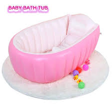0 3 years baby inflatable bathtub pvc thick portable bathing bath tub for kid toddler