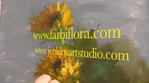 the beauty of oil painting mini delights you shows episode 3 sunflowers you