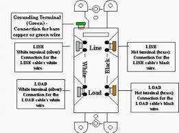 gfci line load diagram gfci image wiring diagram gfci in garage trips at heavy rains doityourself com community on gfci line load diagram