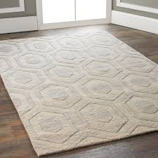 subtle pattern affordable area rugs elegant hexagon hues solid color rug taupe stone and modern