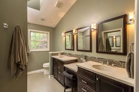 Brown Painted Bathrooms Bathroom Color Schemes Brown And Green Bathrooms Designs