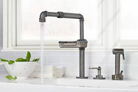 Touch Kitchen Sink Faucet Kitchen Sink Faucet With Sprayer Kitchen Faucets White Moen