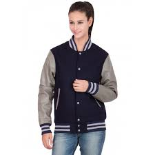 leather sleeves varsity jacket