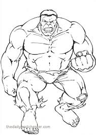 Incredible Hulk Coloring Pages Fresh Free Printable Hulk Coloring