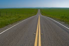 Image result for straightest road in the world