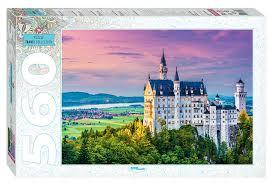 <b>Пазл</b> Бавария. Замок <b>Step puzzle</b> 560 эл. 50х34,5см. 78092 ...