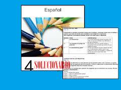 Examen 4to bimestre 6to grado. Solucionario Espanol Sexto Grado Material Educativo Primaria