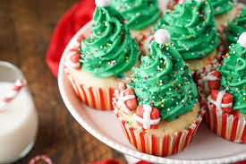 I love these Christmas Tree Cupcakes! They're so cute and great to make