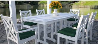 white outdoor furniture. chippendale dining settingjpg white outdoor furniture