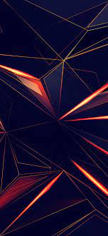 3d Shapes Abstract Lines 4k In ...