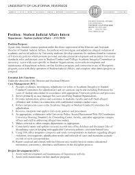 Student Affairs Resume Berathen Com