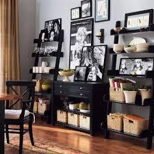 studio wall shelf pottery barn shelves combines with