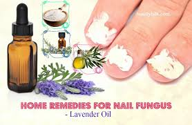 home remes for nail fungus lavender oil
