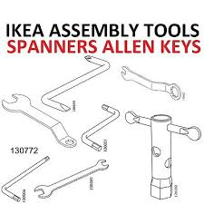 ikea assembly tools allen spanner