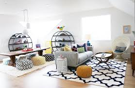 ... Elegant Cheap Home Decor Online With Grey Sofa And White Carpet Also  White Wall ...