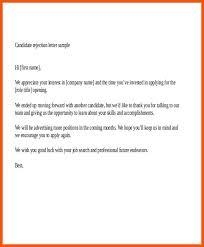 Best Solutions Of Regret Letter On Job Application 11 Decline Letter
