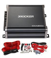 kicker 43cxa3001 600 watt mono class d car audio amplifier amp kicker 43cxa3001 600 watt mono class d car audio amplifier amp wiring kit what s it worth