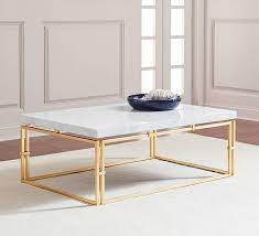 51 marble and faux marble coffee tables