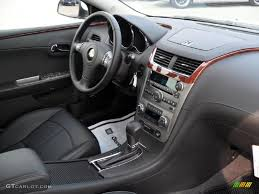 Ebony Interior 2011 Chevrolet Malibu LTZ Photo #37967040 ...
