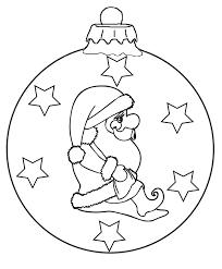 Kerstbal Kerstman Kleurplaat Kleurplaten Kerst Kerstmis En Kerstman