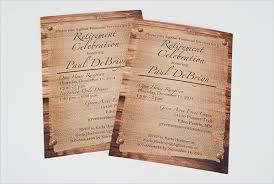 Retirement Celebration Invitation Template 35 Retirement Party Invitation Templates Psd Ai Word Free