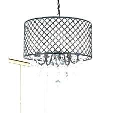 black drum chandelier drum chandelier with crystals chandeliers crystal drum chandelier black metal drum lighting