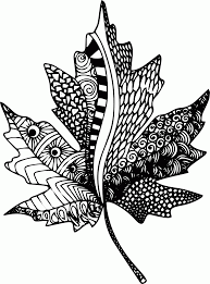 Small Picture Free Printable Zentangle Coloring Pages Coloring Home